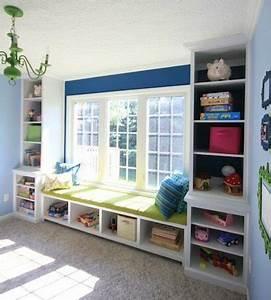 Built-in Window Seat - Bench Plans - Sawdust Girl®