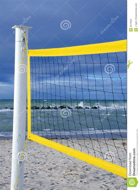 light up volleyball net volleyball net stock image image of game shore cloudy
