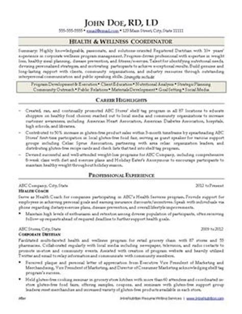 Jobseeker View Jobseeker Resumes by Nutrition Resume Writing Ihirenutrition