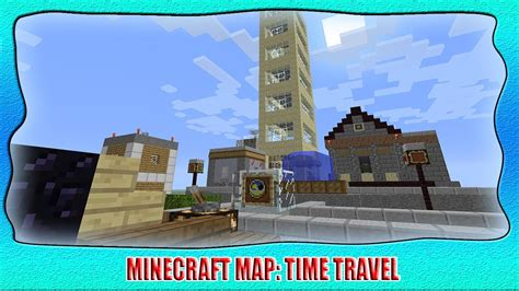 Wtf!? A Working Time Machine In Minecraft!?  Map Review