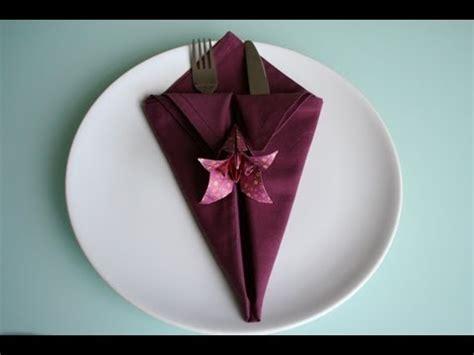 servietten falten bestecktasche einfach servietten falten spitze bestecktasche napkin folding pocket