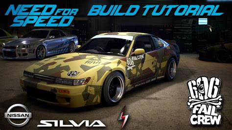 Fail Crew Nissan Silvia S13 Build