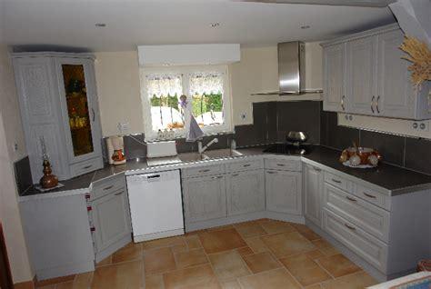 cuisine renovation repeindre des meubles de cuisine rustique relooker ses