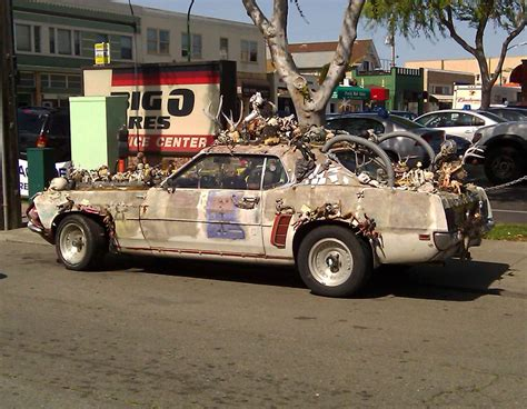 Oncefamous Mustang Art Car Falls On Hard Times, Faces
