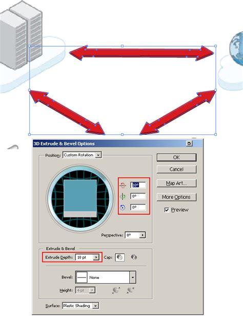 Adobe Illustrator  How Do Draw 3d Arrows? Graphic