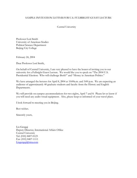 invitation letter visitor visa japan sample sample csusm