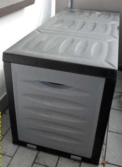 gartenmöbel kunststoff gebraucht kiste aus kunststoff auflagenbox ohne inhalt in witten