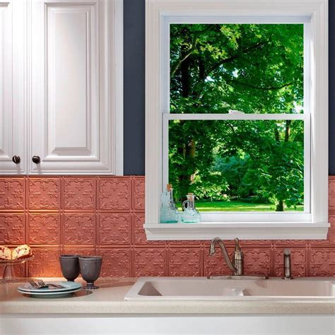 Fasade 24 in. x 18 in. Traditional 10 PVC Decorative