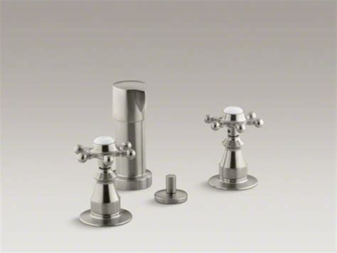 kohler antique vertical spray bidet faucet with six prong