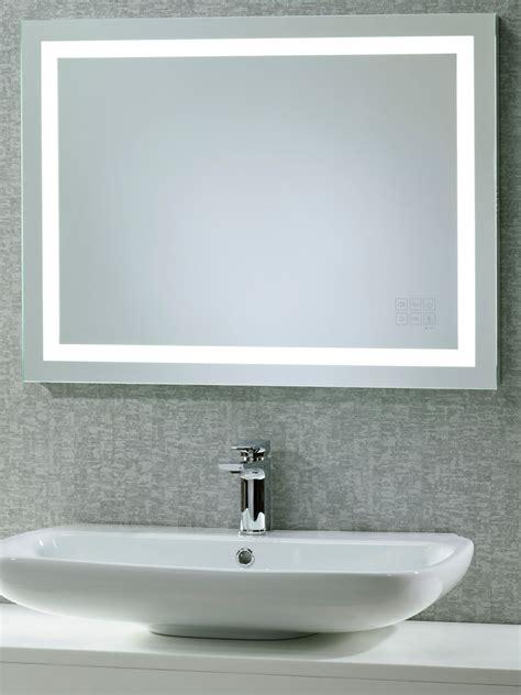 Led Illuminated Bathroom Mirror by Roper Beat Illuminated Led Bathroom Mirror