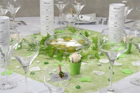 d 233 co de table vert anis et blanc