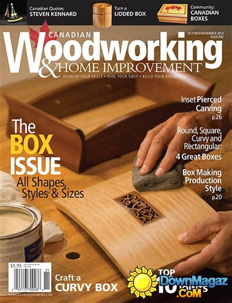canadian woodworking home improvement  october
