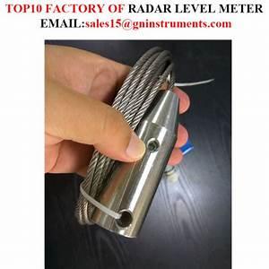 China 10 Meters Measuring Range Guide Wave Radar Level