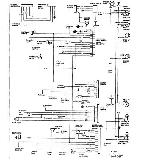 84 Chevy El Camino Wiring Diagram by 1972 Chevy El Camino Wiring Diagram Diagrams Catalogue