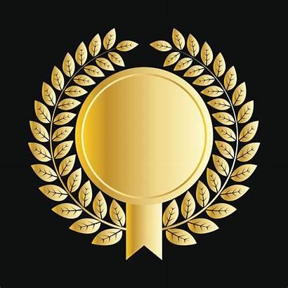 Medallion Signature Guarantee Gold Vector Clip Icon