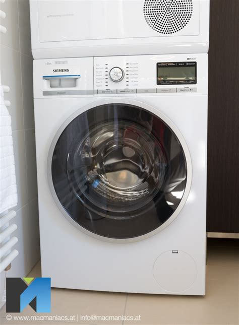 waschmaschine mit waschmittel siemens waschmaschine wm6yh840 mit home connect im test