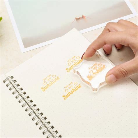 sizes craft acrylic block pad  clear acrylic stamp