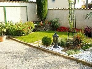 Decoration Jardin Pierre : jardin paysager d corer son jardin avec de la pierre ~ Dode.kayakingforconservation.com Idées de Décoration