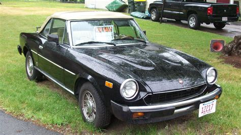 Fiat 2000 Spider by 1980 Fiat Spider 2000 Information And Photos Momentcar