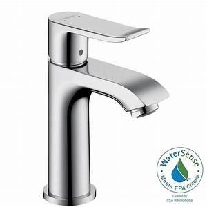 Hans Grohe Metris : hansgrohe metris e 100 single hole 1 handle low arc bathroom faucet in chrome 31088001 the ~ Orissabook.com Haus und Dekorationen