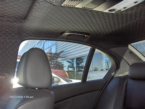 Gucci Car Interior