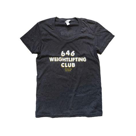 646 Weightlifting Club Tee Womens 646weightlifting
