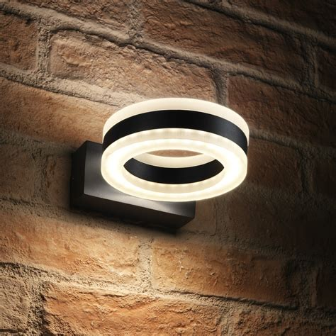 auraglow  integrated led outdoor ip   wall