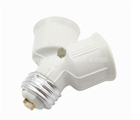 base light l bulb sockets 1 2 splitter with adapter