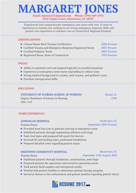 Nursing Resume Sles by Pin By Resume 2018 Sles Usa On Resume Sle 2018