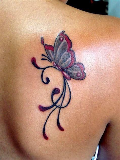 Tatouage Papillon Simple