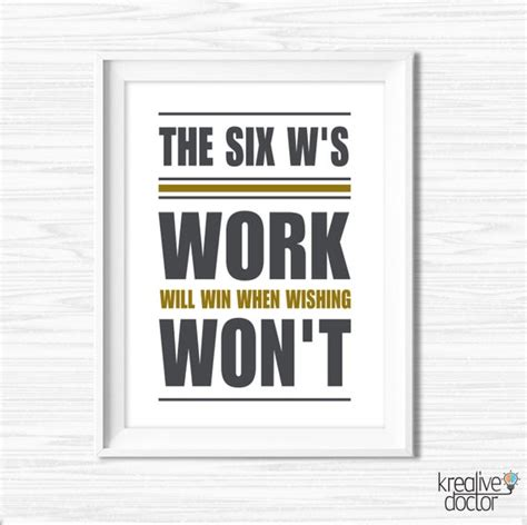 inspiration quote office decor printable office wall art