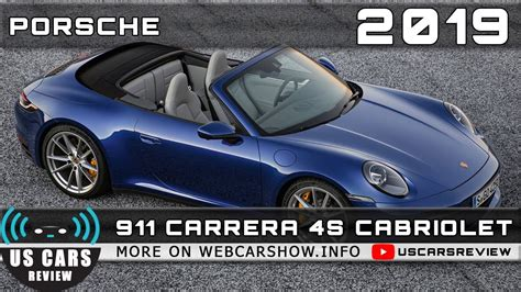 A to z date listed: 2019 PORSCHE 911 CARRERA 4S CABRIOLET Review Release Date Specs Prices - YouTube
