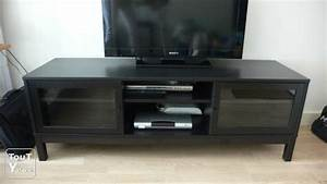 Meuble Tv Noir Ikea : meuble tv noir ikea linnarp antony 92160 ~ Teatrodelosmanantiales.com Idées de Décoration