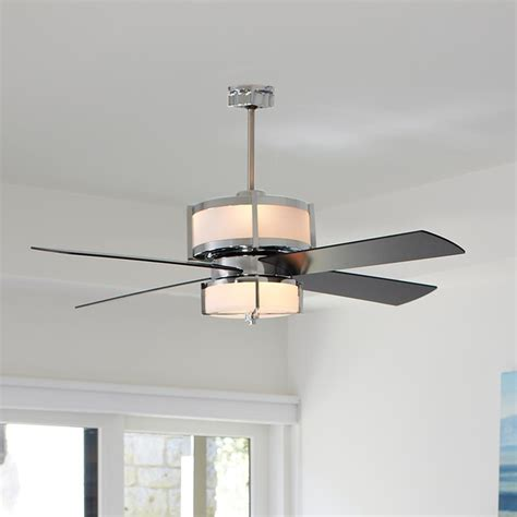 Fans With Lights by Upscale Modern Ceiling Fan 2 Finishes Ceiling Fans