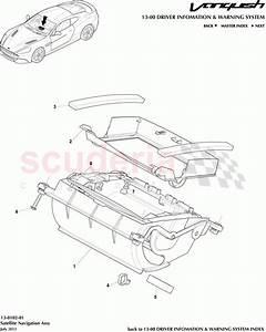 Aston Martin Vanquish  2012   Satellite Navigation