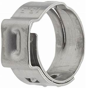 Oetiker 16700010 Stepless Ear Clamp One Ear 7 Mm Band