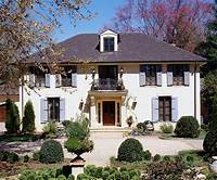french country style homes Country French-Style Home Ideas