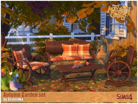 table and 6 chairs severinka 39 s autumn garden