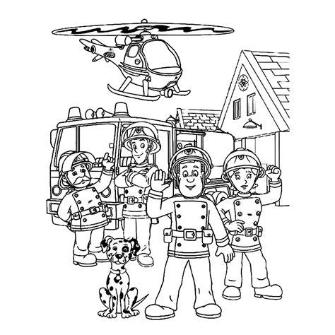 Kleurplaat Brandweerman Sam Boot brandweerman sam kleurplaat zoeken brandweerman