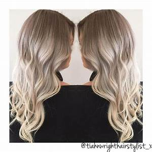 Balayage Blond Grau : best 25 ash grey ideas on pinterest ash grey hair dye grey brown hair and ash grey hair ~ Frokenaadalensverden.com Haus und Dekorationen