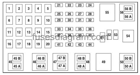 2004 Ford Ranger Fuse Panel Diagram by 2004 Ford Ranger Fuse Panel Wiring Diagram And Schematic