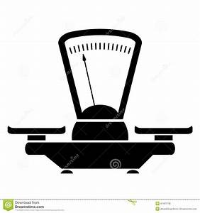 Balance icon stock vector. Illustration of button, scale ...