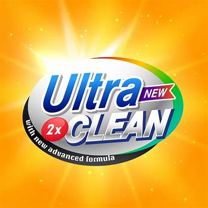 Detergent Advertising Packaging Vector Clean Concept Supplies