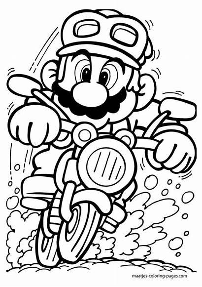 Mario Dibujos Kart Colorear Oh Ad3 Sc