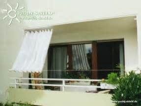 balkon sonnenschutz ohne bohren balkon sichtschutz mit faltsonnensegeln