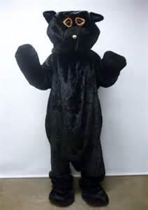 Furry Black Cat Costume