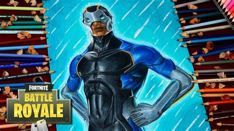 drawing fortnite battle royale carbide  skin season