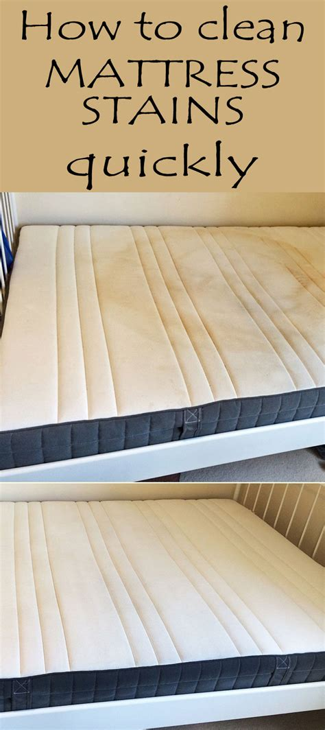 How To Clean Mattress Stains Quickly Cleaningtutorials
