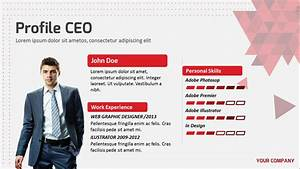 personal profile design templates - personal powerpoint presentation template self