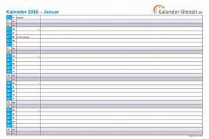 Kalender Zum Ausdrucken 2016 : kalender 2016 zum ausdrucken kostenlose pdf vorlagen ~ Whattoseeinmadrid.com Haus und Dekorationen